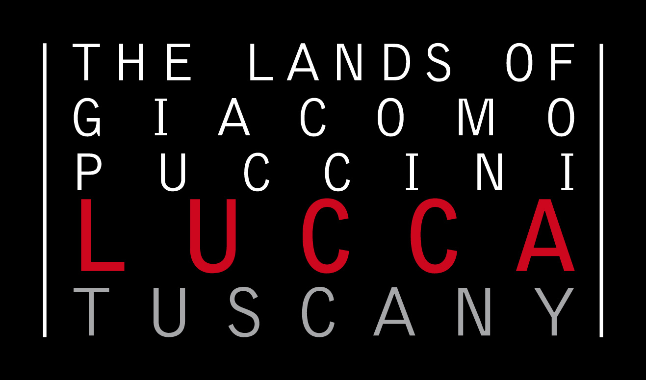 logo The lands of giacomo puccini