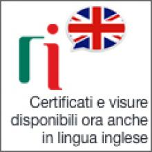 logo Certificate e visure in inglese