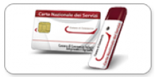 fac simile di smart card