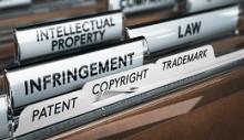 Immagine cartelle di ufficio per brevetti