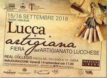 logo manifestazione LuccaArtigiana 2018