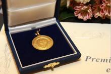 medaglia premio fedeltà